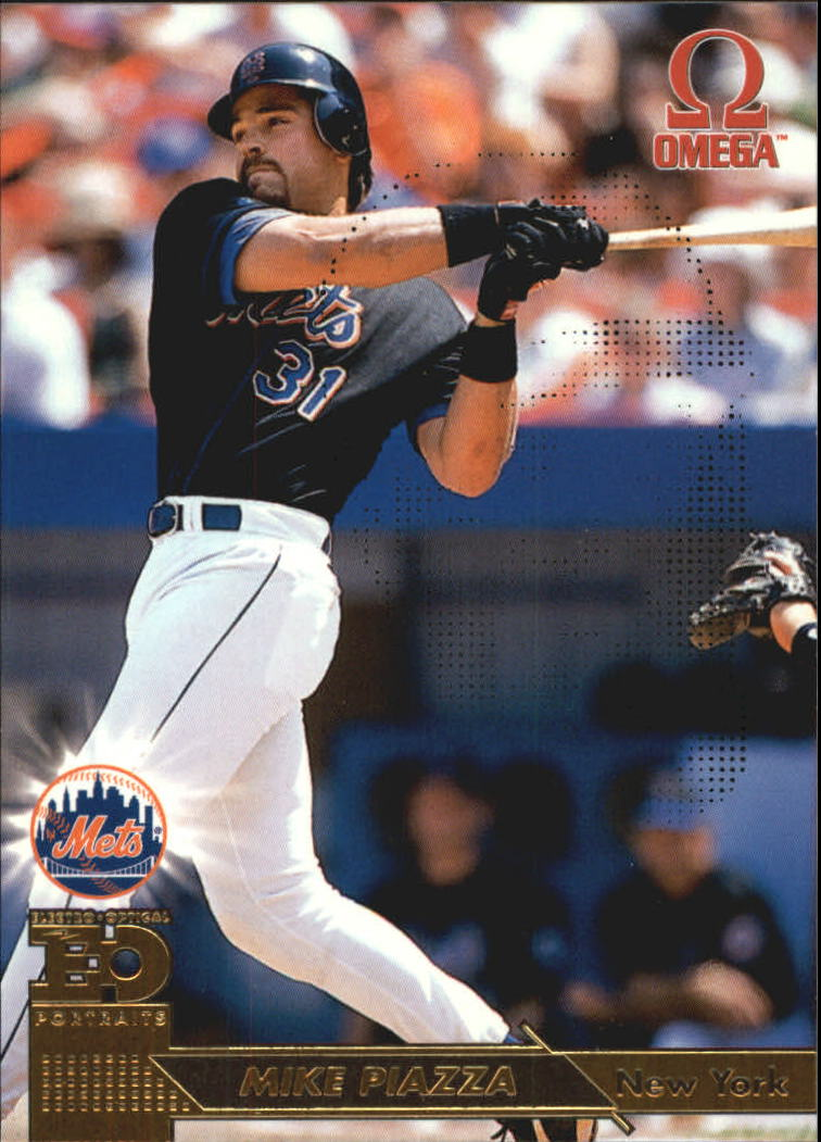 1998 Pacific Omega EO Portraits #17 Mike Piazza