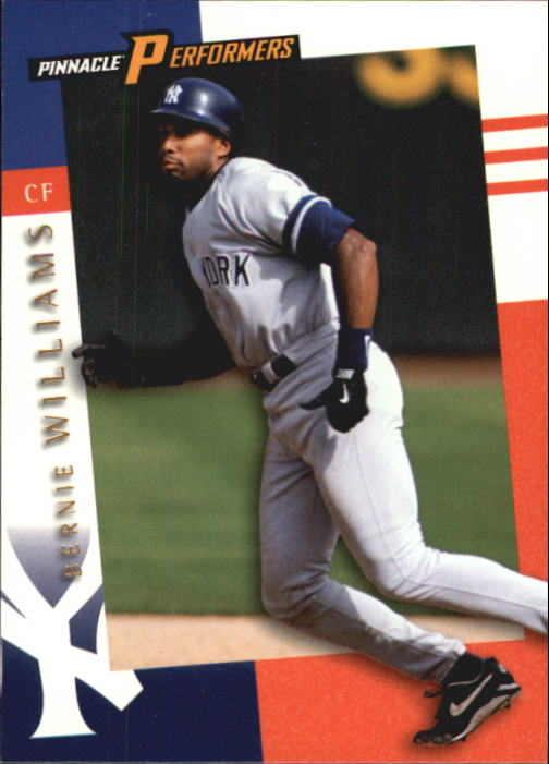 1998 Pinnacle Performers #39 Bernie Williams