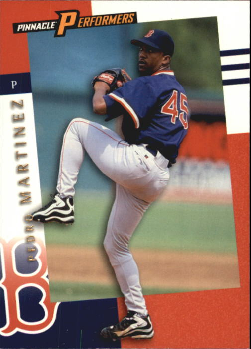1998 Pinnacle Performers #48 Pedro Martinez