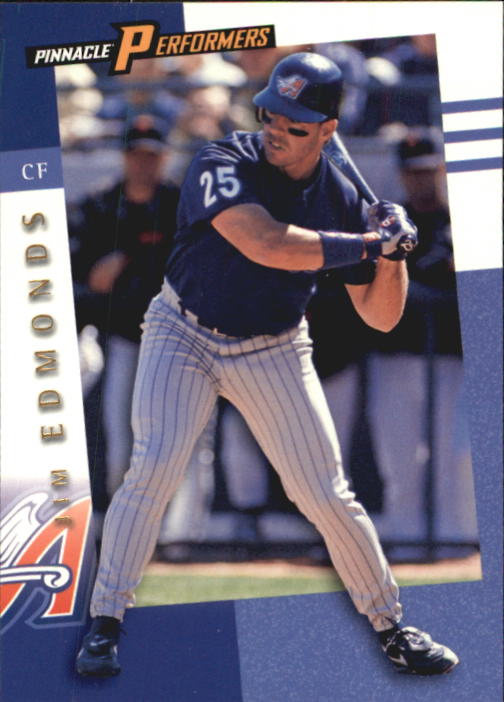 1998 Pinnacle Performers #58 Jim Edmonds