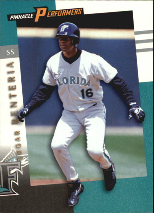 1998 Pinnacle Performers #90 Edgar Renteria
