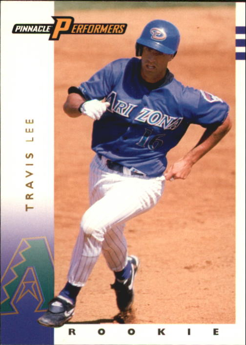 1998 Pinnacle Performers #122 Travis Lee