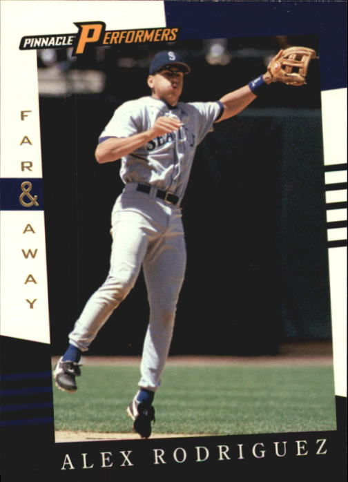 1998 Pinnacle Performers #141 Alex Rodriguez FA