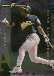 1998 Pinnacle Performers Peak Performers #119 Miguel Tejada