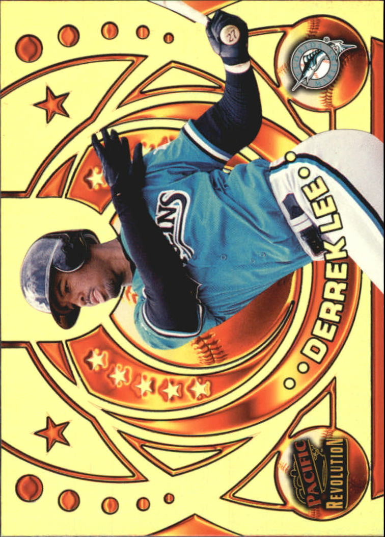 1998 Revolution Rookies and Hardball Heroes Gold #7 Derrek Lee