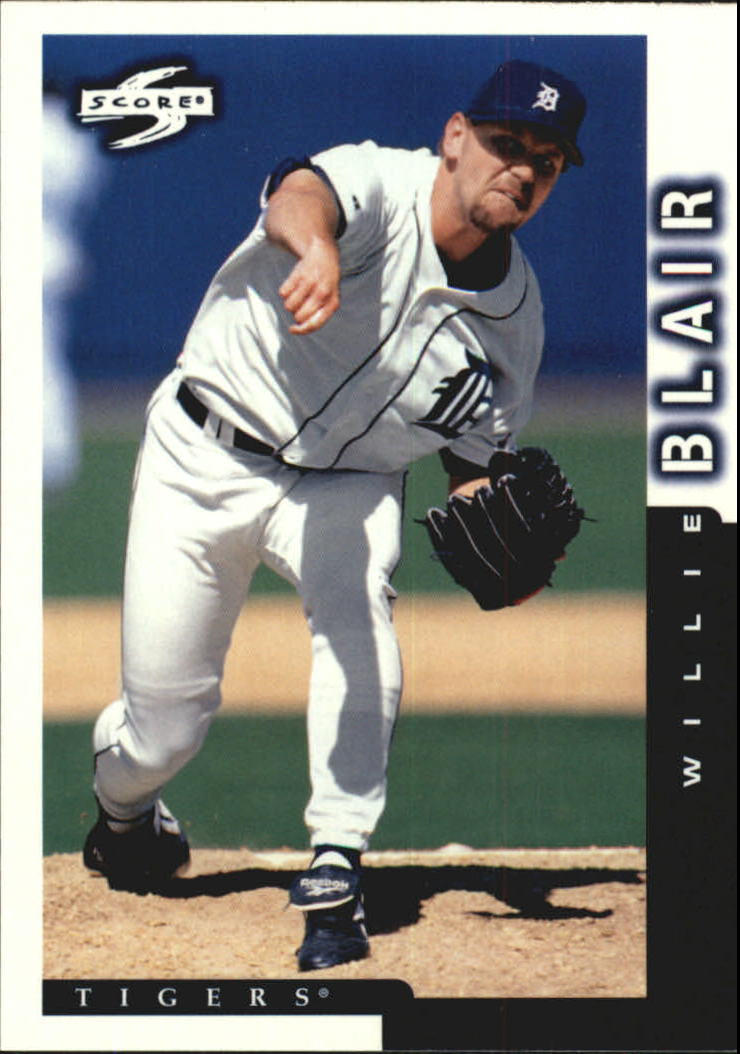 1998 Score #200 Willie Blair