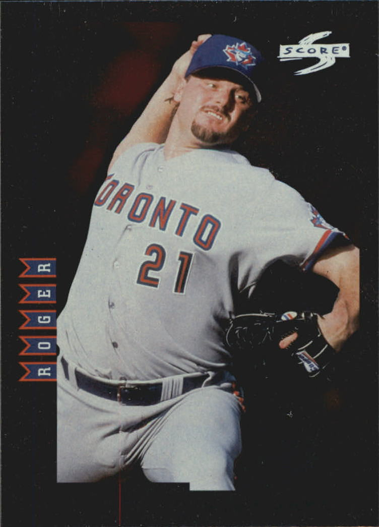 1998 Score Rookie Traded Showcase Series #PP8 Roger Clemens