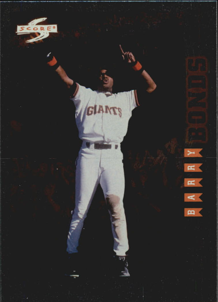 1998 Score Rookie Traded Showcase Series #PP10 Barry Bonds