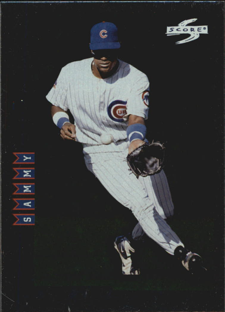 1998 Score Rookie Traded Showcase Series #PP19 Sammy Sosa