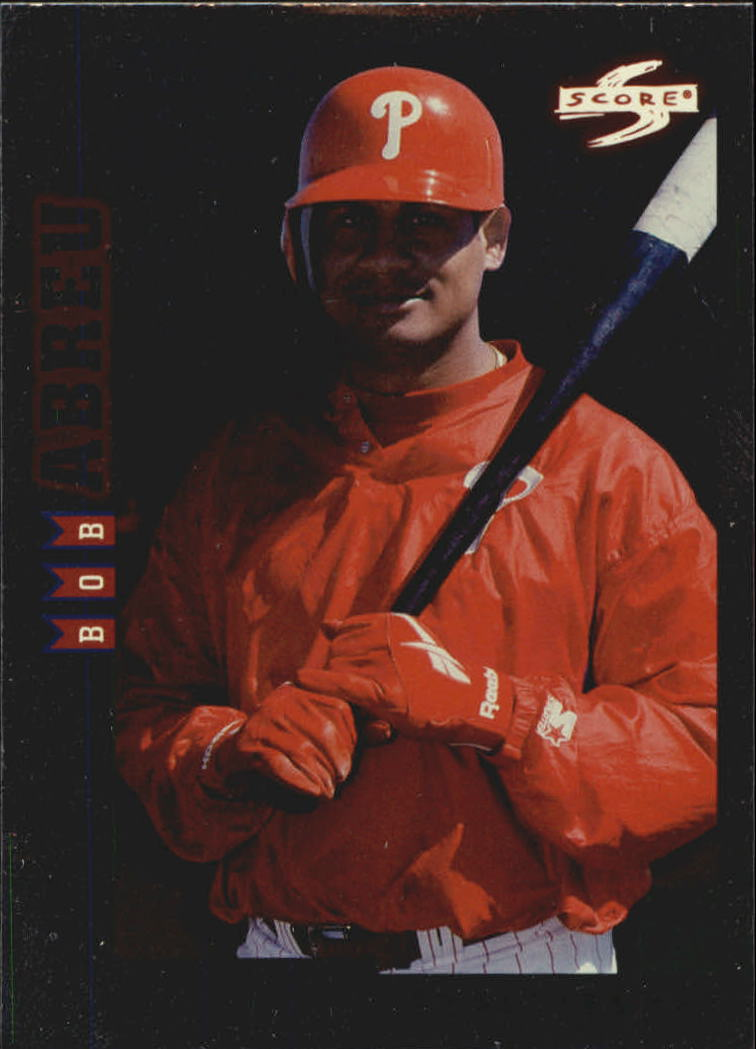 1998 Score Rookie Traded Showcase Series #PP81 Bob Abreu