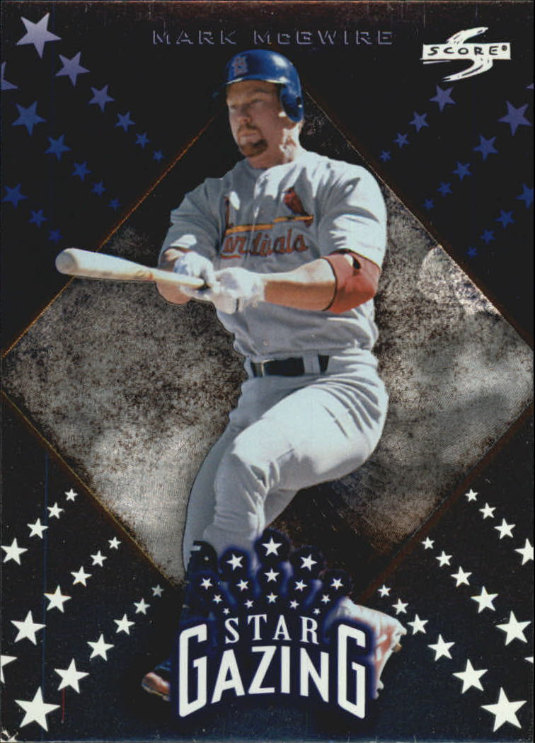 1998 Score Rookie Traded Star Gazing #4 Mark McGwire