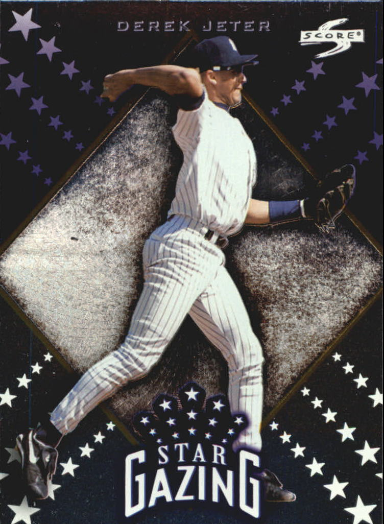 1998 Score Rookie Traded Star Gazing #8 Derek Jeter