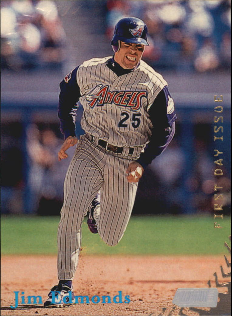 1998 Stadium Club First Day Issue #12 Jim Edmonds