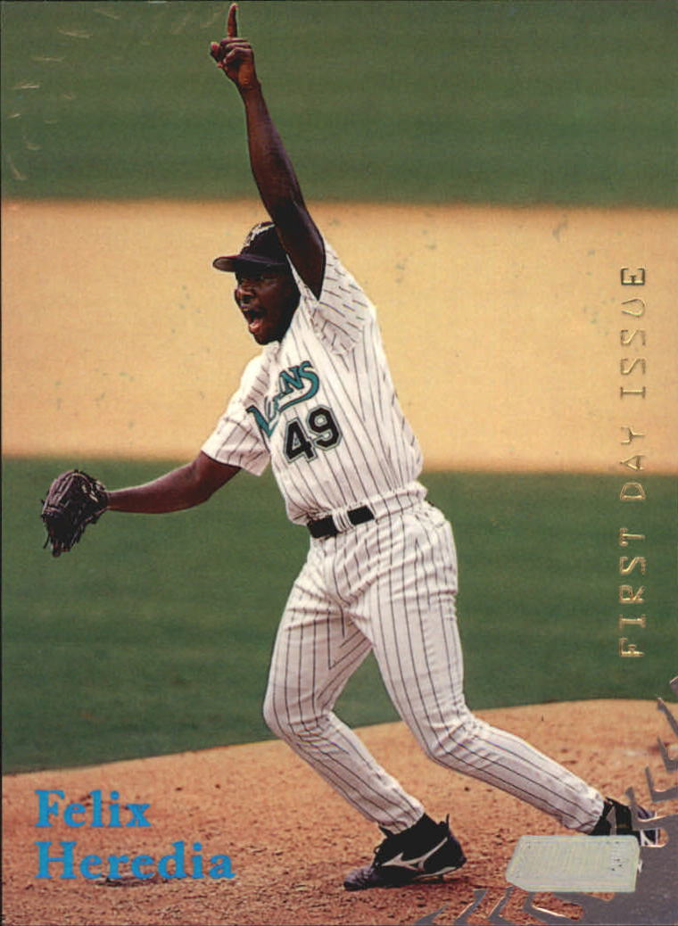 1998 Stadium Club First Day Issue #286 Felix Heredia