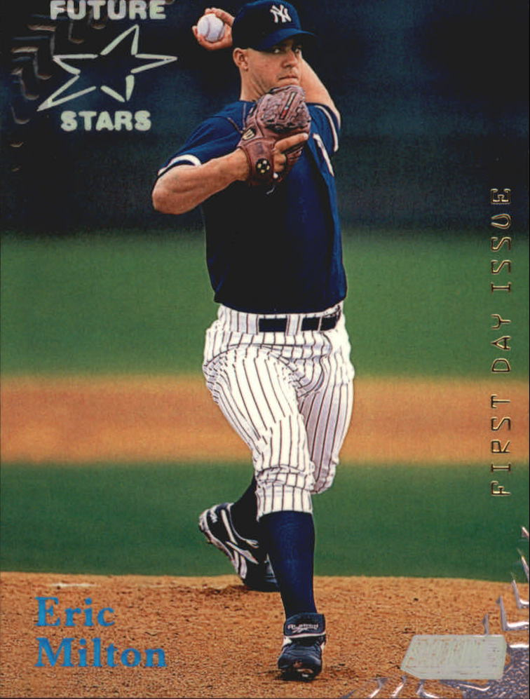 1998 Stadium Club First Day Issue #375 Eric Milton
