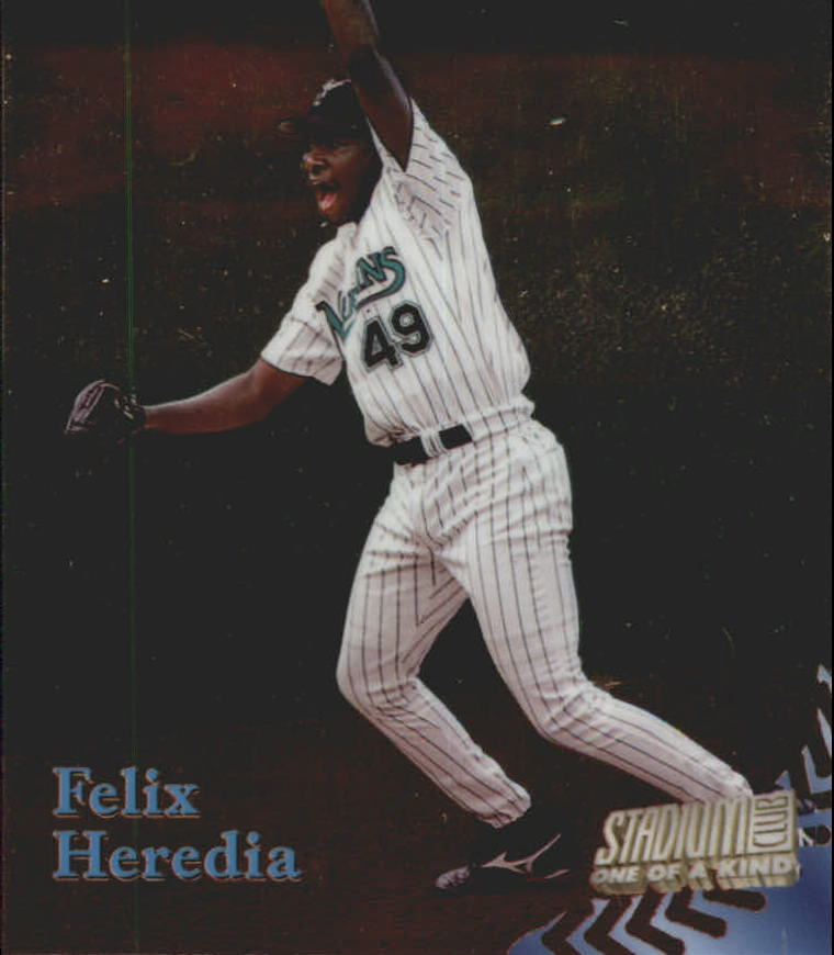 1998 Stadium Club One Of A Kind #286 Felix Heredia