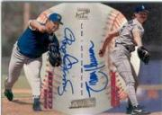1998 Stadium Club Co-Signers #CS31 Roger Clemens B/Randy Johnson