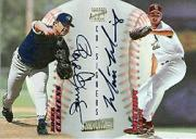 1998 Stadium Club Co-Signers #CS33 Roger Clemens C/Matt Morris