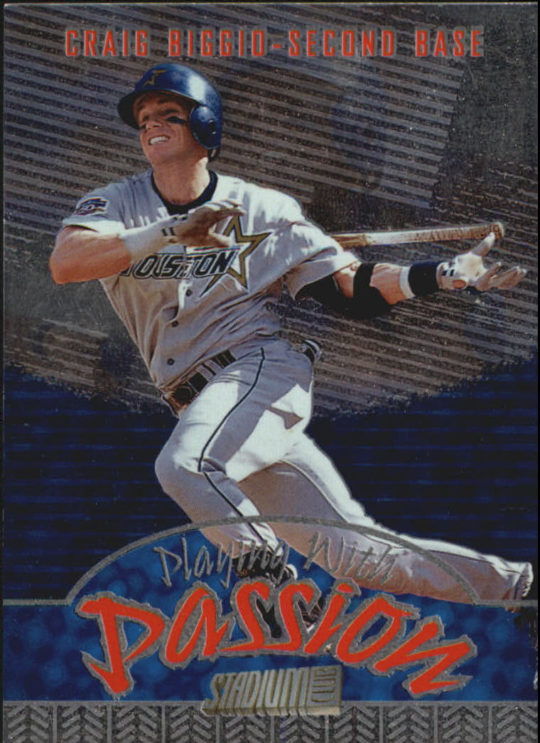 1998 Stadium Club Playing With Passion #P5 Craig Biggio