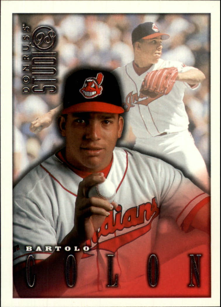 1998 Studio #121 Bartolo Colon