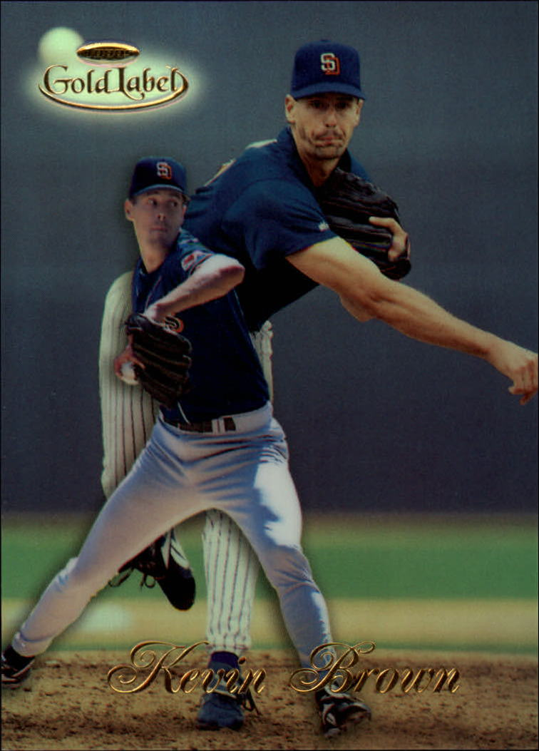 1998 Topps Gold Label Class 1 #1 Kevin Brown