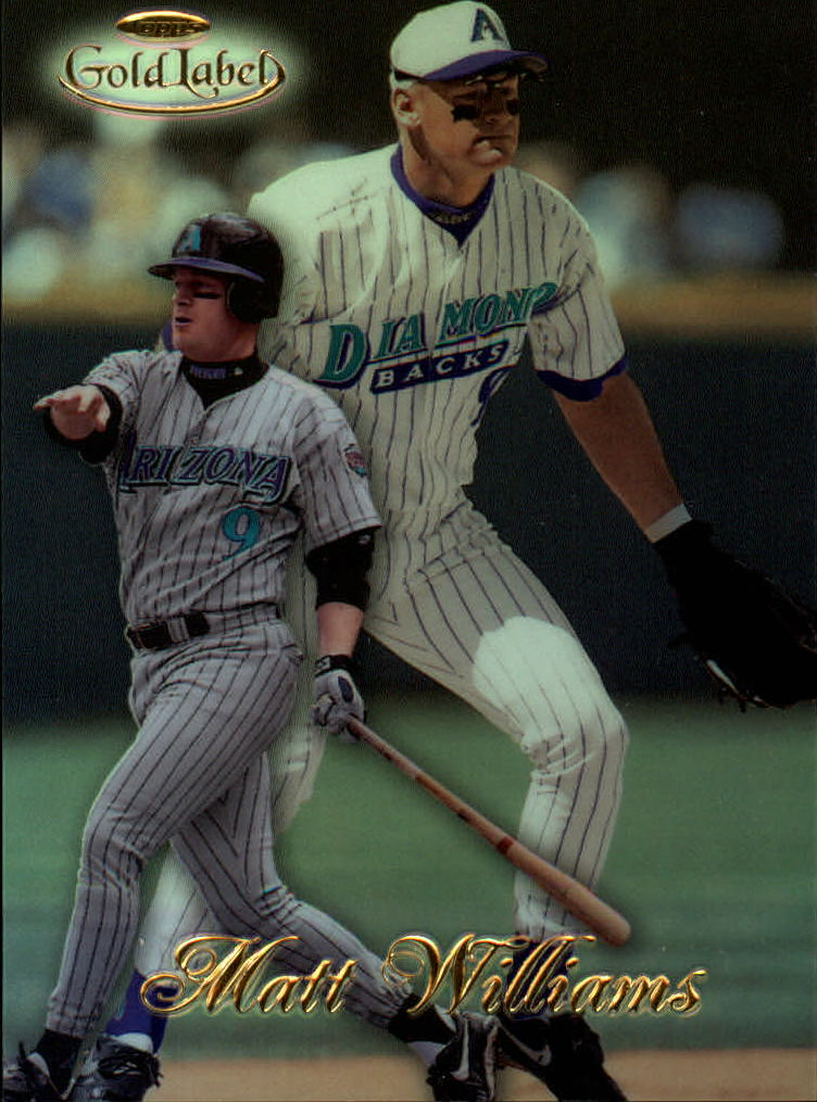 1998 Topps Gold Label Class 1 #6 Matt Williams