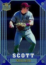 1998 Topps Stars 'N Steel #36 Scott Rolen