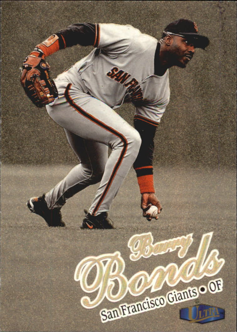 1998 Ultra Gold Medallion #50 Barry Bonds