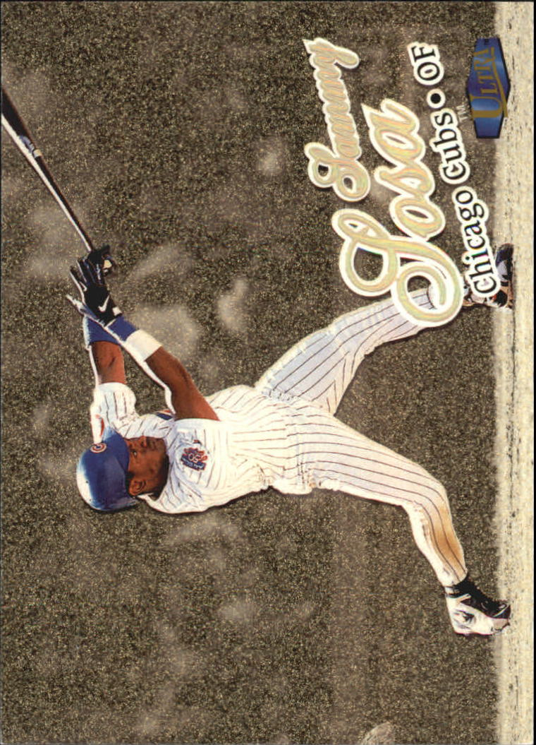 1998 Ultra Gold Medallion #95 Sammy Sosa