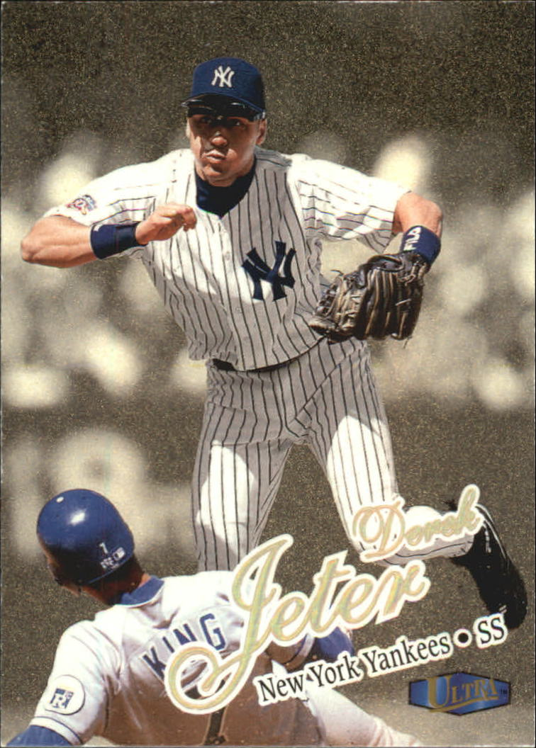 1998 Ultra Gold Medallion #150 Derek Jeter