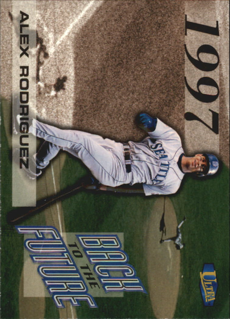 1998 Ultra Back to the Future #2 Alex Rodriguez
