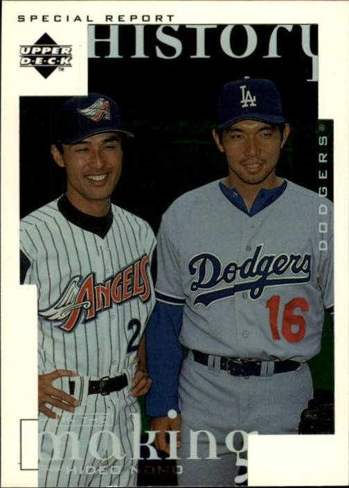 1998 Upper Deck #7 Hideo Nomo HIST