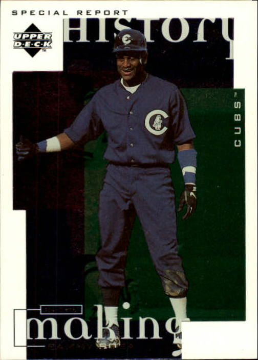 1998 Upper Deck #8 Sammy Sosa HIST
