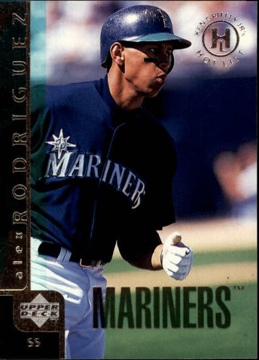1998 Upper Deck #18 Alex Rodriguez GHL