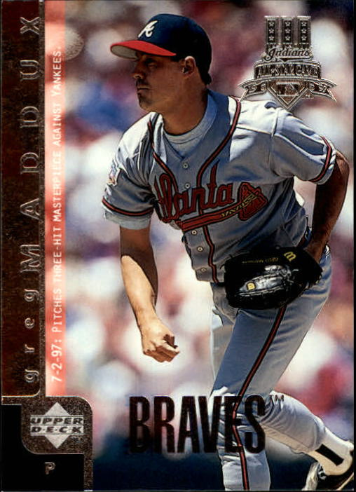 1998 Upper Deck #30 Greg Maddux