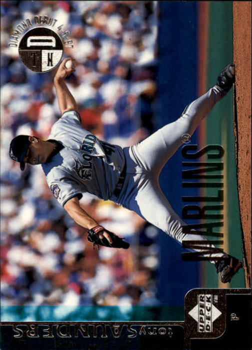 1998 Upper Deck #97 Tony Saunders
