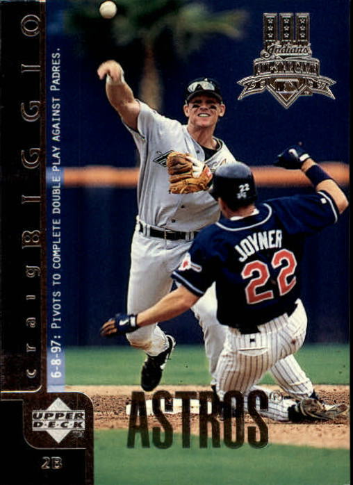 1998 Upper Deck #100 Craig Biggio