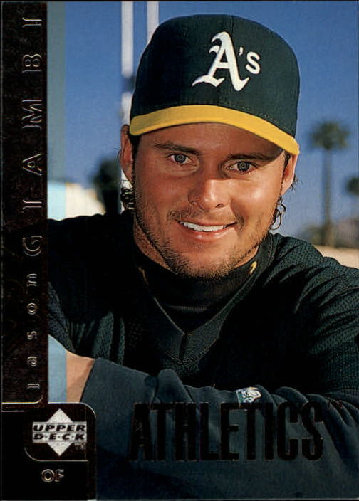 1998 Upper Deck #183 Jason Giambi