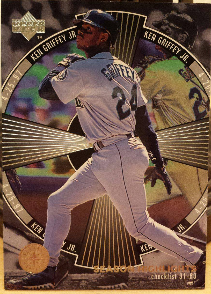 1998 Upper Deck #245 Ken Griffey Jr. SH