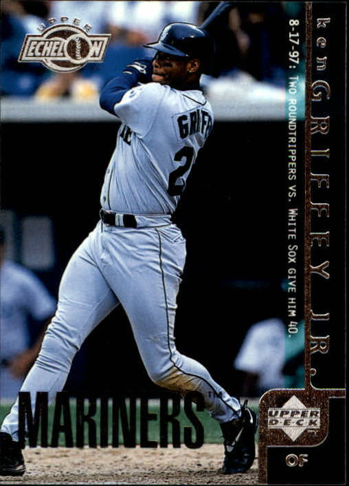 1998 Upper Deck #455 Ken Griffey Jr. UE