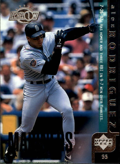1998 Upper Deck #457 Alex Rodriguez UE