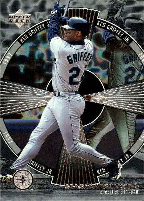 1998 Upper Deck #540 Ken Griffey Jr. SH