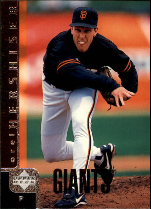 1998 Upper Deck #720 Orel Hershiser