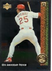 1998 Upper Deck 10th Anniversary Preview #20 Mark McGwire