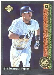 1998 Upper Deck 10th Anniversary Preview #41 Derek Jeter