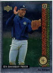 1998 Upper Deck 10th Anniversary Preview #42 Alex Rodriguez