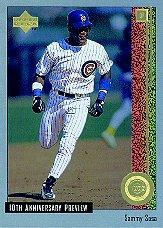1998 Upper Deck 10th Anniversary Preview #51 Sammy Sosa