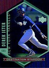 1998 Upper Deck Destination Stardom #DS28 Derek Jeter