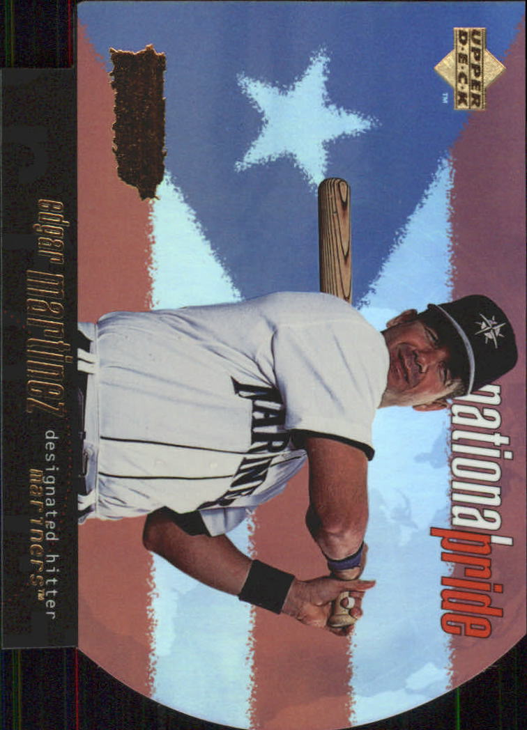 1998 Upper Deck National Pride #NP32 Edgar Martinez