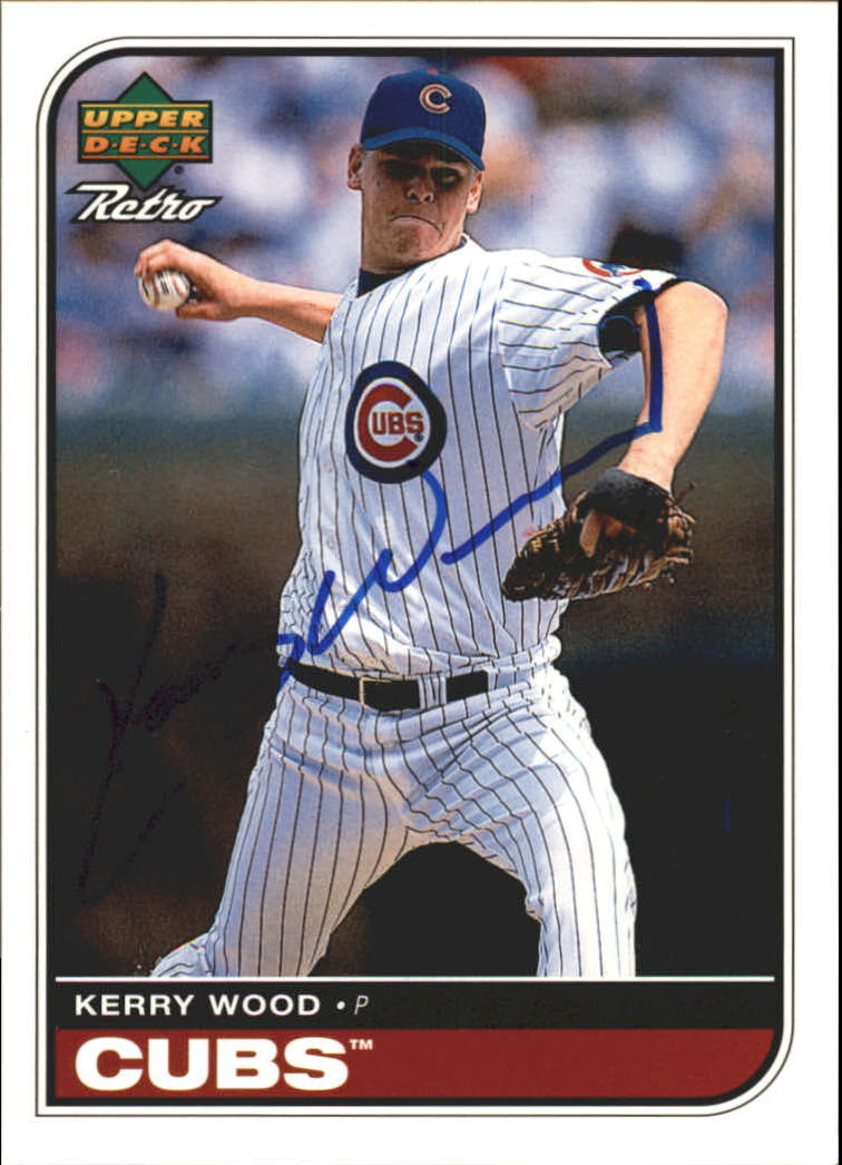 1998 Upper Deck Retro Sign of the Times #KW Kerry Wood/200